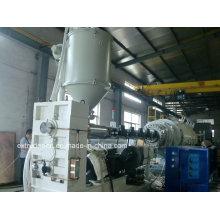 Machine de production de tuyau de gaz et d'eau de HDPE de grand calibre