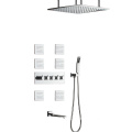 Bathroom Shower Mixer With Body Jets Shower Faucet