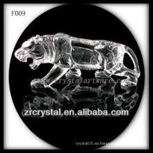 Tigre esculpido a mano Crystal K9