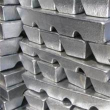 2015 Haute pureté et prix d'usine Lingre de zinc 99,995%