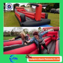Top amusement! Jeu de sport gonflable à bungee run / trampoline / jump inflatable à vendre