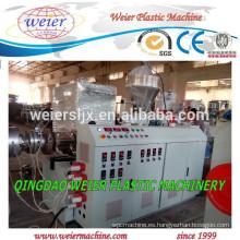 Tubería de extrusión de PVC tubería de PVC de la máquina