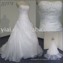 2011 lovely design free shipping high quality elgent sweetheart ball gown style cheap bridal wedding dress 2011 JJ2378