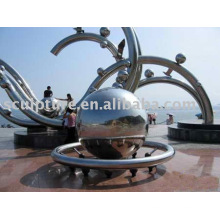 2015 New Lucky Ball High Quality Stainless Steel Sculpture