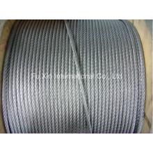 Alambre de acero al carbono Galv. Cuerda de alambre