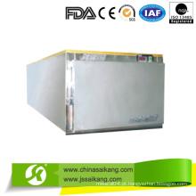 FDA cold mortuary Refrigerator (cadáver único) com aço inoxidável