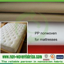 Tela no tejida de la fábrica de China para el edredón, muebles, colchón