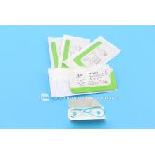 CE FDA ISO 13485 Hochwertige medizinische Versorgung mit Stichschneider Chirurgische sterile Einweg-Naht