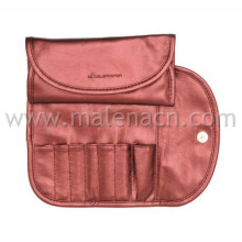 Red Folding Cosmetic Pouch Makeup Bag