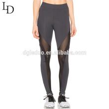 Venda quente malha elástica slim fit alta cintura movimento leggings calças de yoga