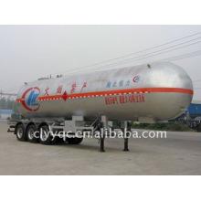 3 axles LPG transport semi-trailer