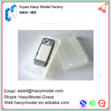 China prototype maker custom vacuum casting hot selling phone holders silicone