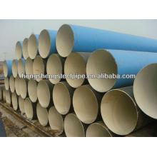 Tubo de acero revestido de pintura epoxi