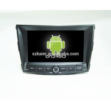 android 6.0-Dvd player para car1024 * 600 android car reproductor de dvd para Ssangyong tivoly + OEM + quad core!