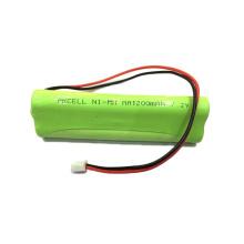 Batería recargable de Ni-mh AA 7.2V 1200mah