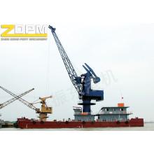 Floating Deck Marine Port Crane