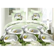 Microfiber Brushed 3D Comforter Set or Duvet Cover Set Bedding China Factory