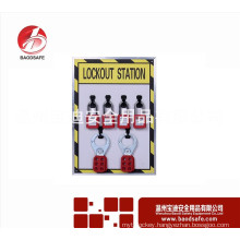 4 Lock lockout station with contents