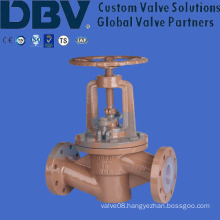 Casting Wcb Fluorine Seated Globe Valve with Ce Approval