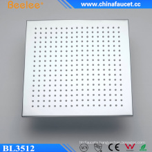 Beelee Sanitary Ware Brass Square Negative Ion Shower Head