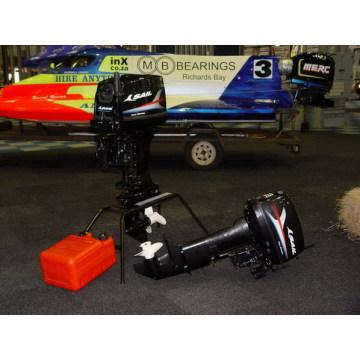 Прочный двухтактный подвесной двигатель мощностью 30 л.с. для рыбака