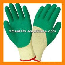Crinkle Latex beschichtete Handschuhe / Latex Palm beschichtete Handschuhe