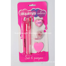 6PC Stationery Set/Stationery Set for Kids for Gifts (AU102)