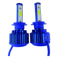 LED phare couleur bleu Ampoules Lumières