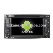 Vente chaude android 4.2 OBD TPMS autoradio pour Volkswagen Touareg avec GPS / Bluetooth / TV / 3G / WIFI