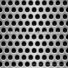 Hojas perforadas de acero inoxidable / Malla de metal perforado / Hoja de metal perforado