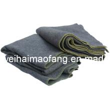 Manta de ayuda de emergencia de alivio mezclado 10%Wool/90%polyester