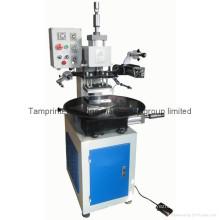 Máquina de carimbo quente pneumática da tabela giratória Tam-90-5