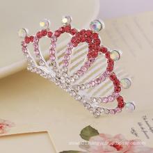 Handmade small crystal rhinestone crown for kids HP303