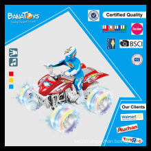 Friction power kid car for car and motorcycle with man motorcycle cross