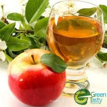 Dés de pomme en conserve emballés solides