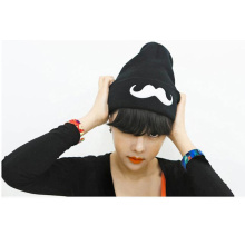 High Quality Custom Fashion Cheap Embroidery Printed Knitted Beanie Hats