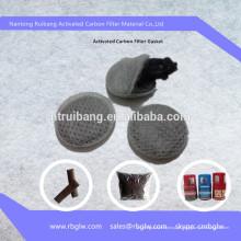 Fabricação Boa qualidade de malha de filtro de carvão ativado