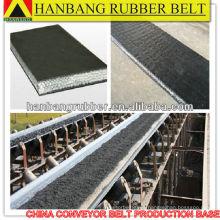 Cinta transportadora cinturón sólido tejido PVG1400S para subterráneo mina de carbón