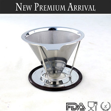 New Products 2016 Reusable Pour Over Coffee Dripper, Paperless Coffee Dripper