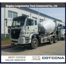 Precio competitivo Haohan 6X4 4cbm camión mezclador