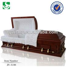 Standards très solide en bois gros antiques cercueils