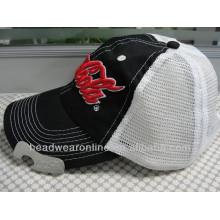 Custom Bottle Opener Embroidery Baseball Caps of 100%Cotton