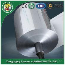 Rouleau d'emballage de papier d'aluminium élégant élégant de niveau supérieur