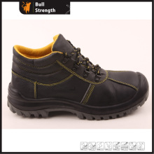 Industrial Leather Safety Boots with Steel Toe and Steel Midsole (SN5268)