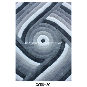 Microfibre Soft Shaggy conception 3D