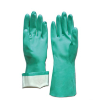 NMSAFETY EN 374 & EN 388 Geen Nitrile Chemical Resistant Glove