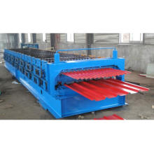 Color Steel Trapezoidal Roofing Sheet Roll Forming Machine