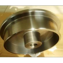 Roda motriz de aço inoxidável com usinagem CNC
