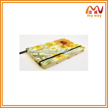 Fashion Notebook Journal Blank Lined Custom Composition Impressão em papel para notebook
