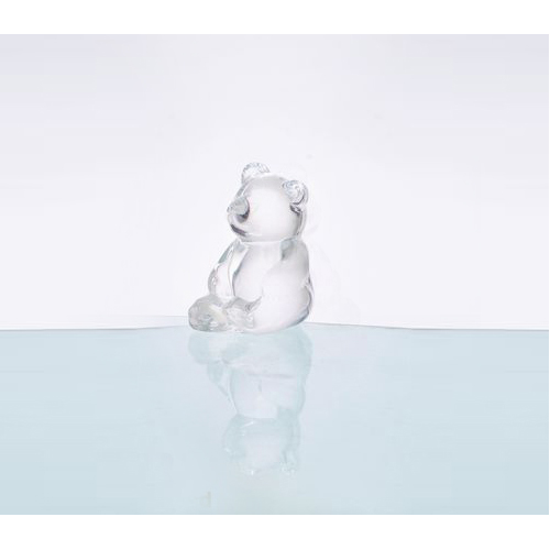 Glass Bear Shape Statue